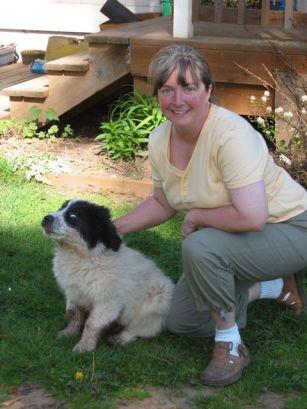 New Puppy on the farm, DeeDee, 2004