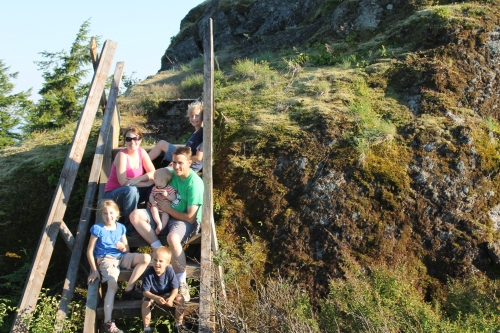 Steenbargers at Davis Peak