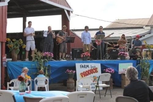 Concert at Velvet Acres.