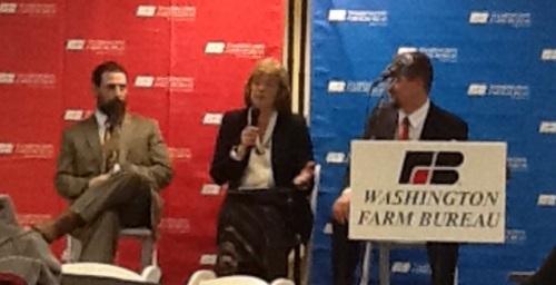 Panel with Senator Judy Warmick, Representative Brian Blake, and Representative David Taylor